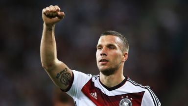 Lukas Podolski: Not thinking about international retirement