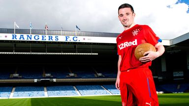 Nicky Clark: Competing with international stars at Rangers