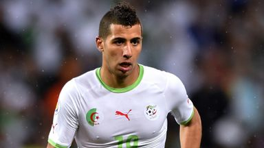 Saphir Taider: Has signed for Southampton on a season-long loan