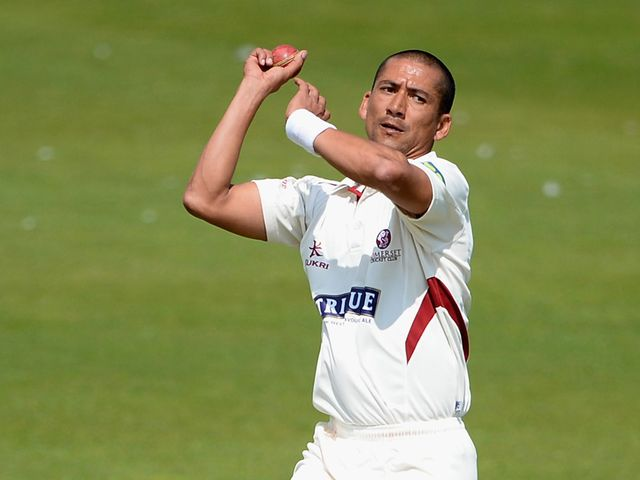 Alfonso Thomas: Took four wickets in four balls