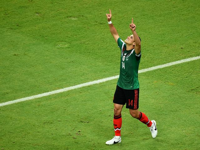 Javier Hernandez scored as Mexico won 3-1