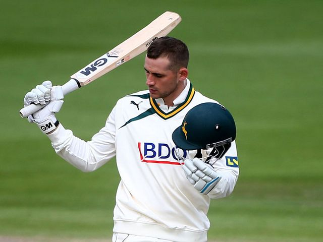 Alex Hales: Just missed out on a ton but helped Notts to victory