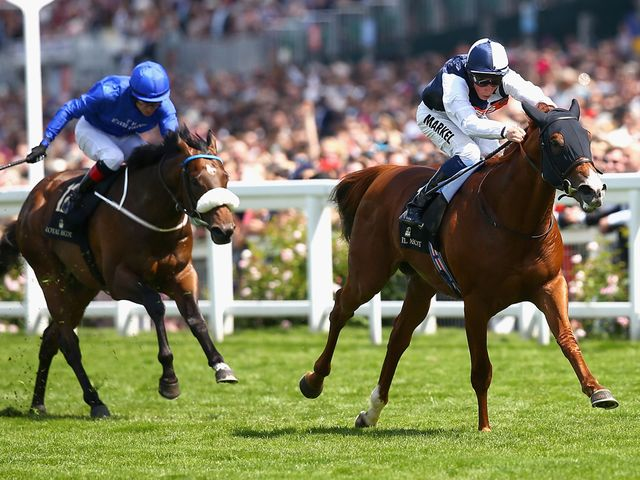 Richard Pankhurst storms clear of Toscanini in the Chesham Stakes