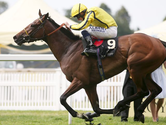 Rizeena held on to claim Group One glory at Royal Ascot.