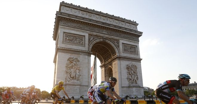 This year's Tour de France takes place from July 5-27