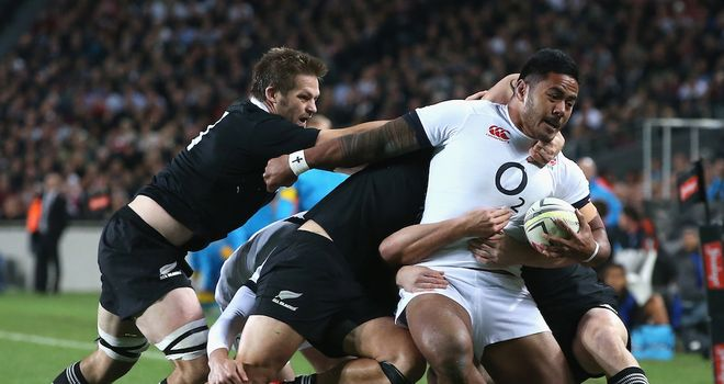 Tuilagi: Moved to wing to face All Blacks for a second time