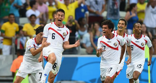 Oscar Duarte: Celebrates Costa Rica's second