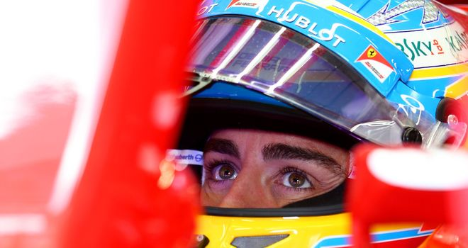 Fernando Alonso: Finished fifth in Austria