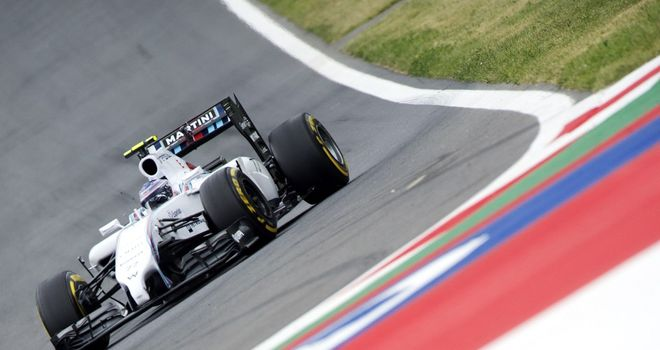Valtteri Bottas: Flew to the fastest time in final practice
