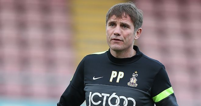 Phil Parkinson: Adds competition in goalkeeping ranks