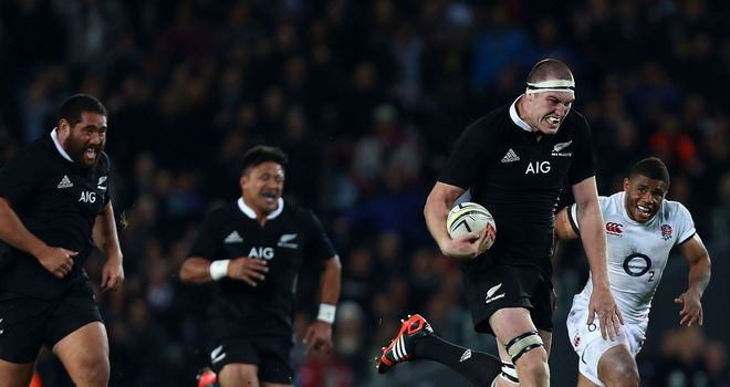 Retallick couldn't name a member of Stuart Lancaster's team two weeks ago.