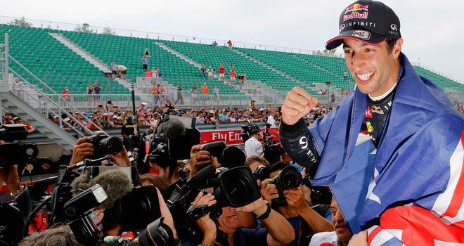 Daniel Ricciardo: Big enough talent