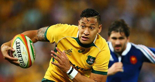 Israel Folau: The explosive runner misses the atmosphere of playing in rugby league's State of Origin