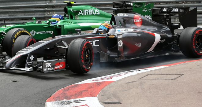 Sauber: Only above Caterham in the Constructors' Championship on results countback