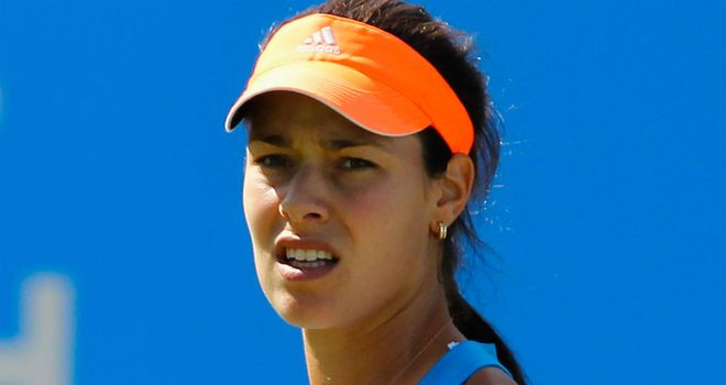 Ana Ivanovic: The top seed eased into the semi-finals