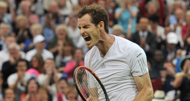 Fiery customer: Murray must play with a champion's swagger to conquer Dimitrov, says Barry