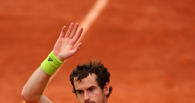 Andy Murray: Came out on top after long fifth set against Philipp Kohlschreiber