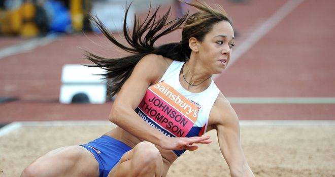 Katarina Johnson-Thompson: Still hopes to compete at the European Championships