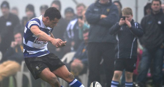 Dan Carter playing for local club Southbridge on Saturday