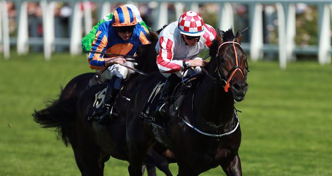 Slade Power beats Due Diligence in the Diamond Jubilee Stakes