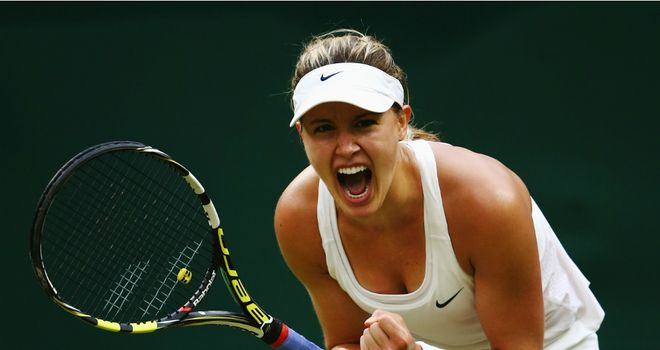 Eugenie Bouchard: Confident of success at Wimbledon