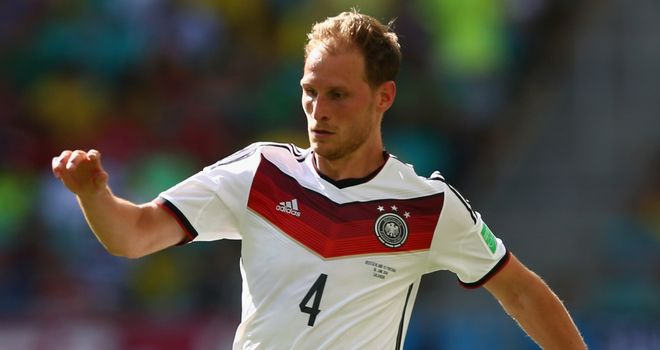 Benedikt Howedes: Helped Germany to World Cup glory in Brazil