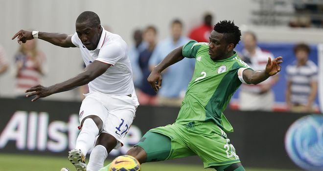 Jozy Altidore: Scores his second as USA see off Nigeria