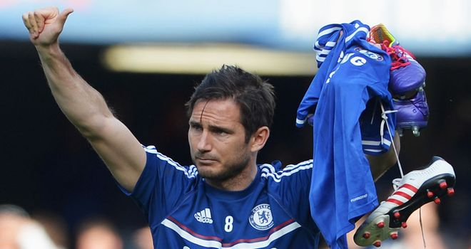 Frank Lampard: Said he would have like to have stayed on