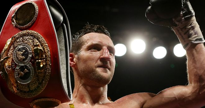 Carl Froch: Knocked out George Groves in the eighth round at Wembley