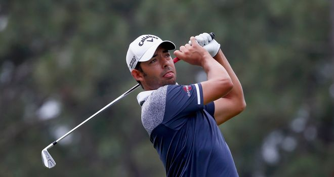 Pablo Larrazabal: Three clear of the chasing pack