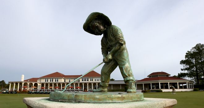 Pinehurst will offer a red hot reception for players and fans this week