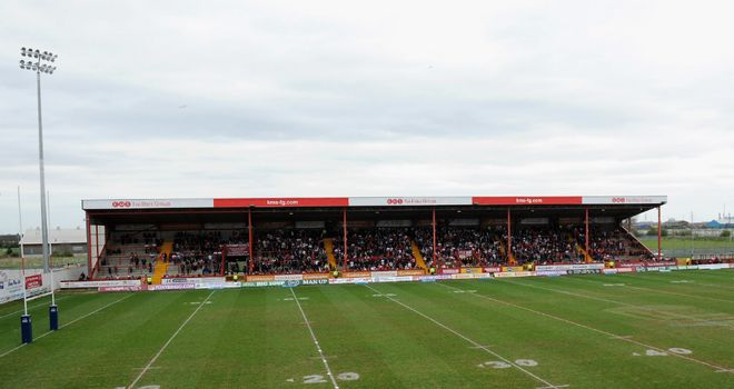 KC Lightstream Stadium: Plays host to Huddersfield on Thursday with the newly-named Colin Hutton Stand open