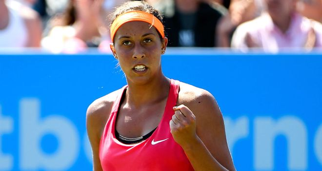 Madison Keys: The American teenager beat Angelique Kerber of Germany in the final at Eastbourne