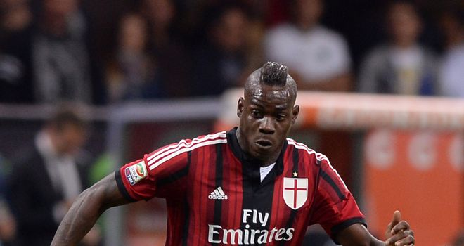 Mario Balotelli: AC Milan insist the striker is staying put despite much speculation