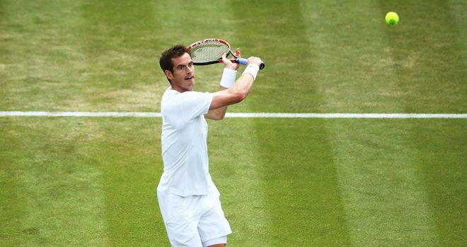 Andy Murray: Dropped just two games in most clinical performance at Wimbledon