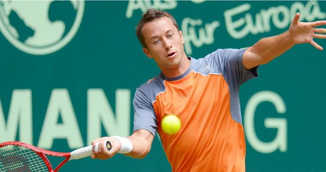 Philipp Kohlschreiber: Former champion made brisk progress at the Gerry Weber Open