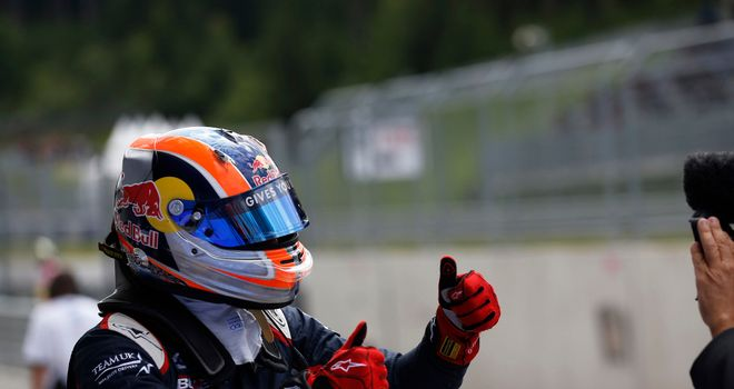 Alex Lynn: On pole in Austria (GP3 Series Media)