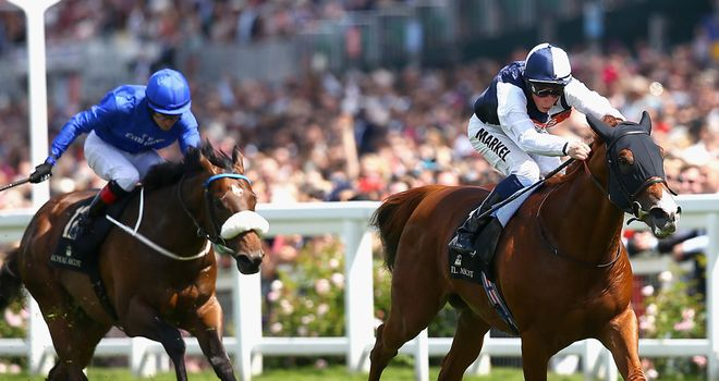 Toscanini finishes second in the Chesham Stakes
