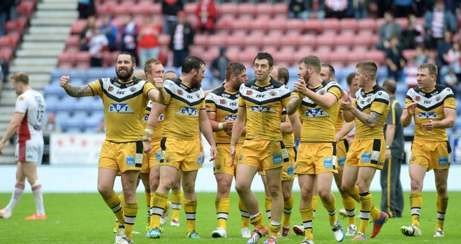 Castleford: Became the first side to win away at Wigan in the cup since 1986