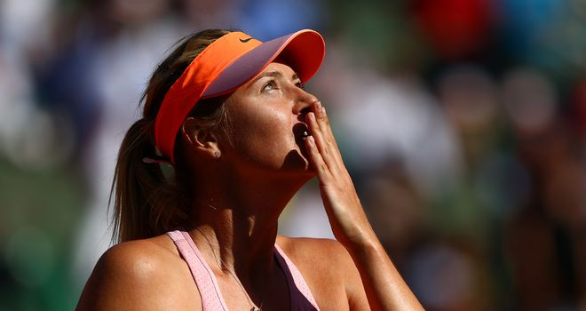 Maria Sharapova: Five Grand Slam titles after her second French Open victory
