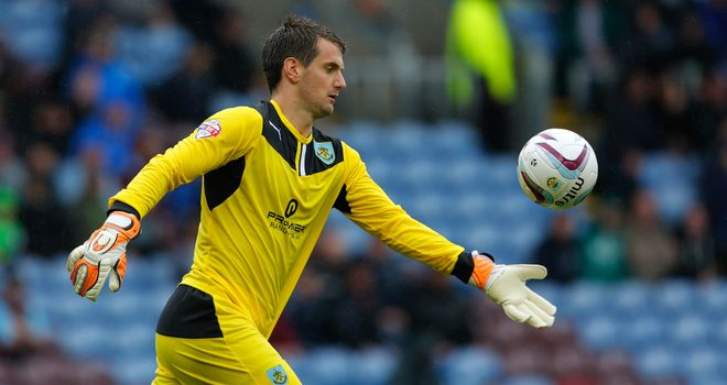 Tom Heaton: Burnley goalkeeper has signed new three-year deal