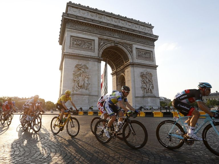 Don't miss your chance to watch the final stage of this year's Tour de France