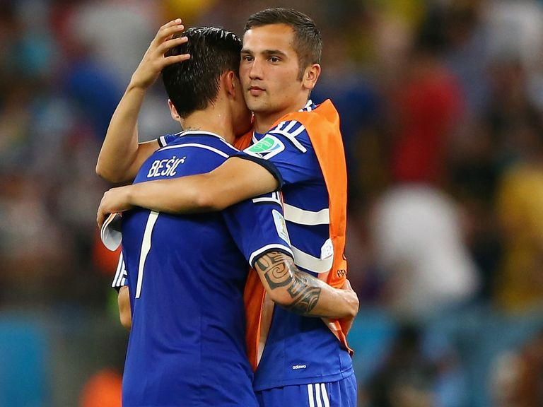 Bosnia look poised to gain a first World Cup win