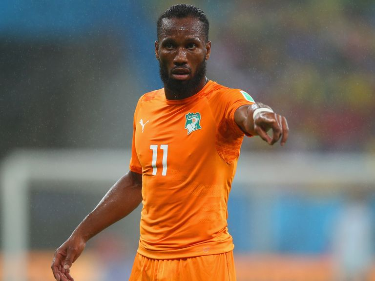 Didier Drogba: Could make an emotional return to Chelsea