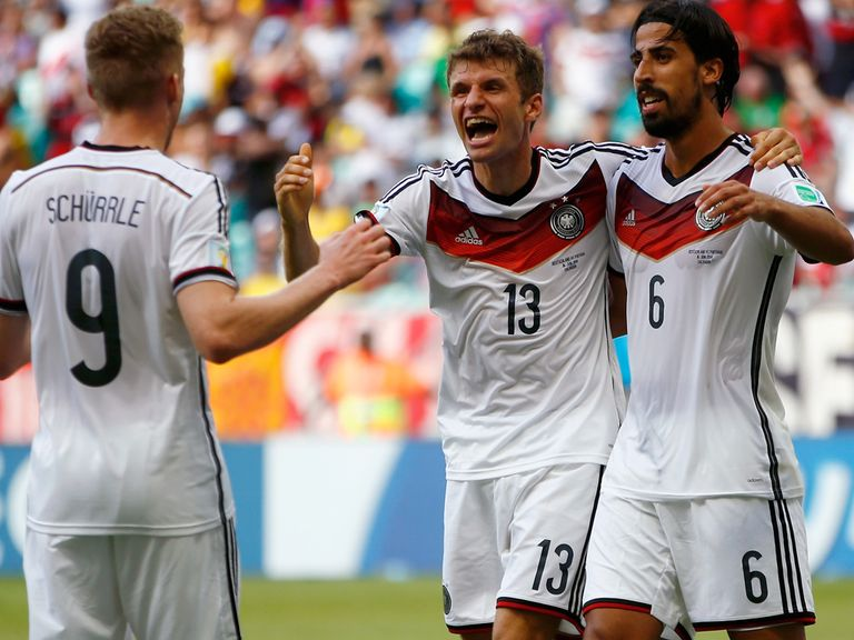 Thomas Muller: Germany's hat-trick hero