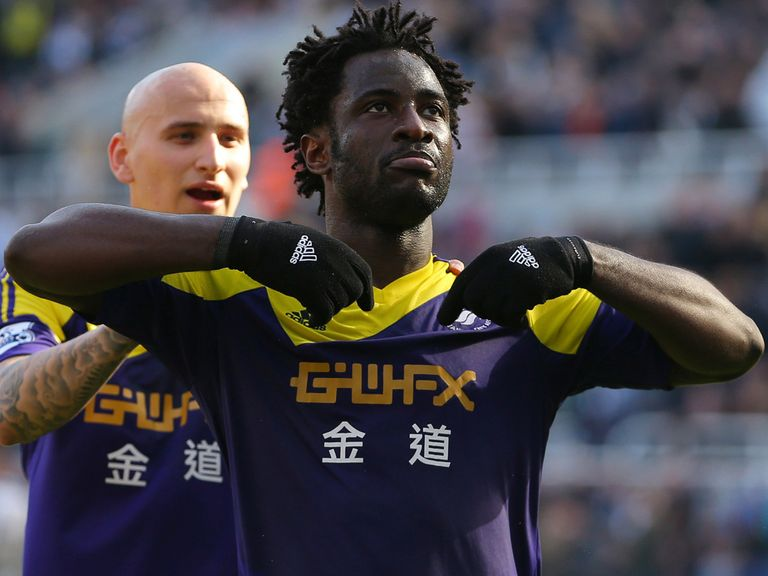 Wilfried Bony: Key player for Swansea