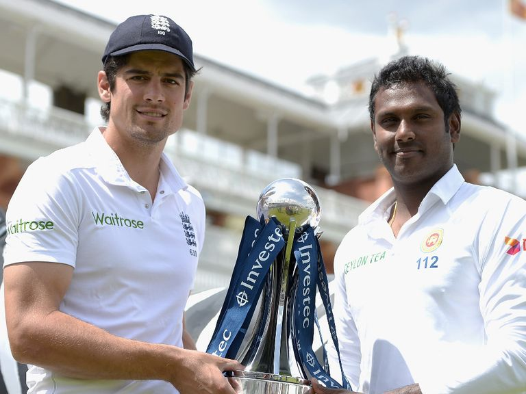 Angelo Mathews preparing for the Test series with England