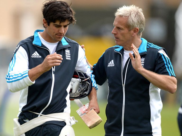 Alastair Cook: Backed by Peter Moores