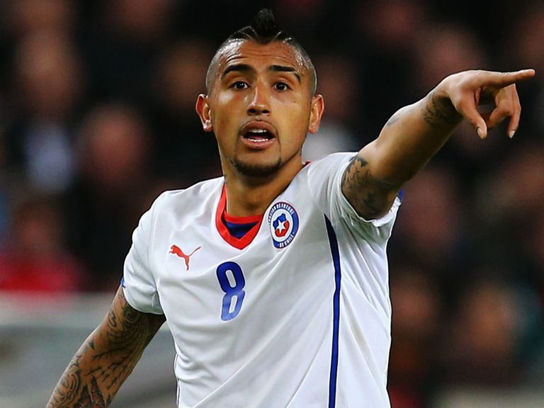 Vidal: Seemingly ruled out a move to Manchester United