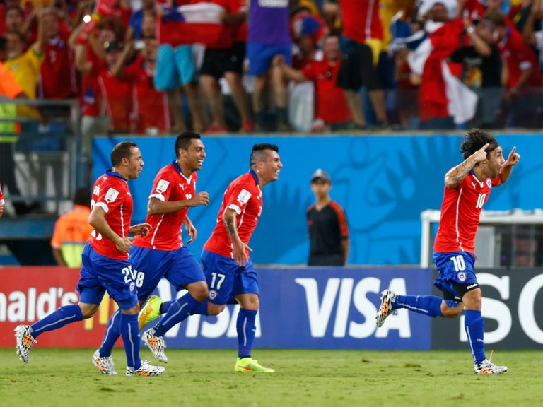 Chile made a very bright start against Australia